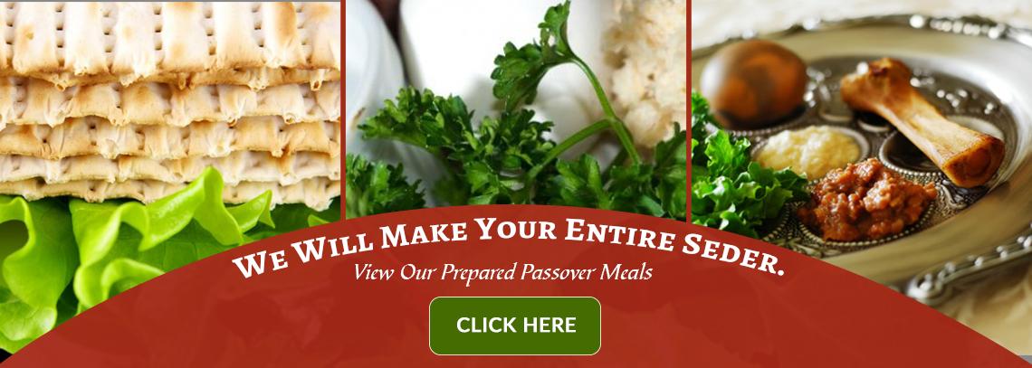 Passover Prepare Meals