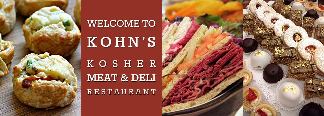 Kohn's Kosher - Kohn's Kosher Deli, Butchery, & Bakery